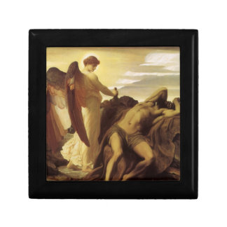 Elijah in Wilderness by Lord Frederic Leighton Jewelry Box