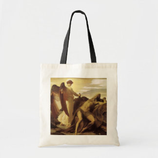 Elijah in Wilderness by Lord Frederic Leighton Tote Bag