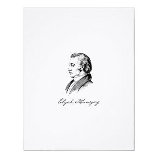 Elijah Lovejoy Notecard