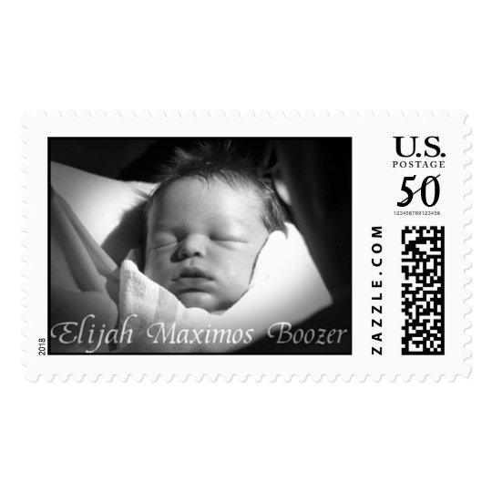 Elijah Maximos Boozer June 13-17 2003 Postage
