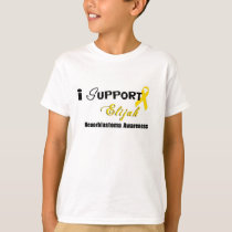Elijah Neuroblastoma Cancer awareness Kids T-Shirt