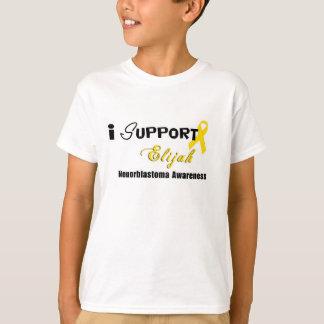 Elijah Neuroblastoma Cancer awareness Kids T-Shirt