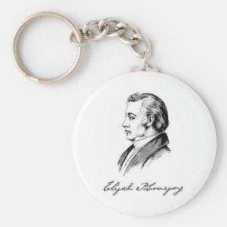 Elijah Parish Lovejoy Keychain