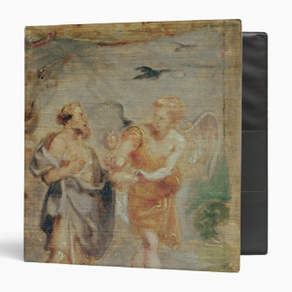 Elijah Receiving Bread and Water from an Angel 3 Ring Binder