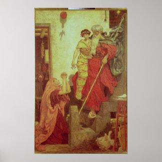 Elijah restoring the Widow's Son, 1868 Poster