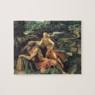 Elijah Visited by an Angel, c.1534 Jigsaw Puzzle