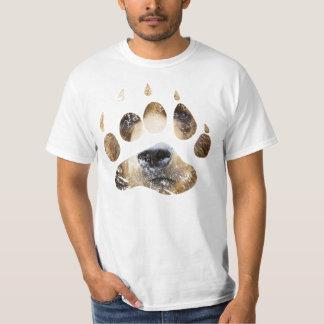 Eliminada camiseta de la pata de oso