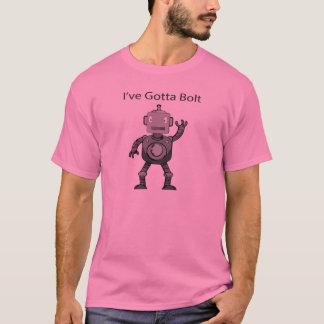 Eliminada camiseta rosada del robot de la comedia