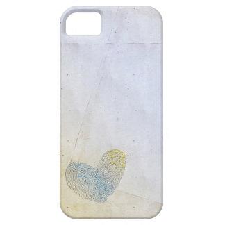 Eliminado diseño artístico del texto del corazón iPhone 5 fundas