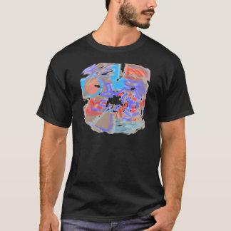 'Eliminado y diseños descolorados de la camiseta