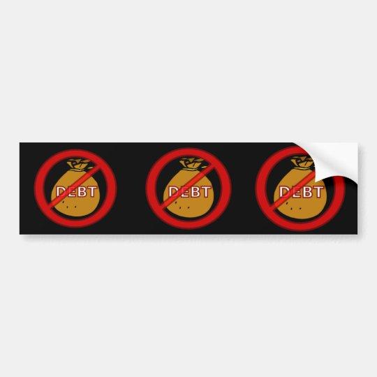 Eliminate Debt Bumper Sticker