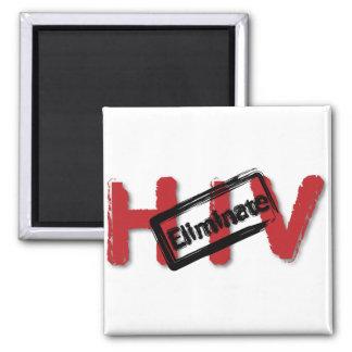 Eliminate HIV Refrigerator Magnets