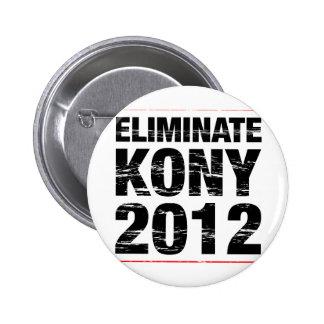 Eliminate Kony 2012 Pinback Button