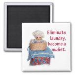 Eliminate Laundry Magnets
