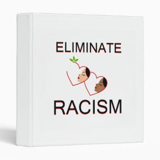 Eliminate racism 3 ring binder