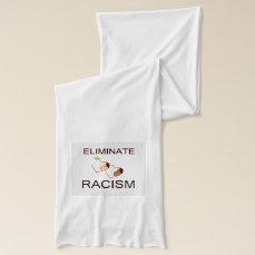 Eliminate racism scarf