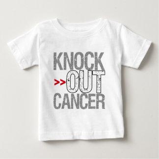 Elimine al cáncer - cáncer de pulmón remeras
