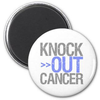 Elimine al cáncer - cáncer del esófago imán de frigorífico