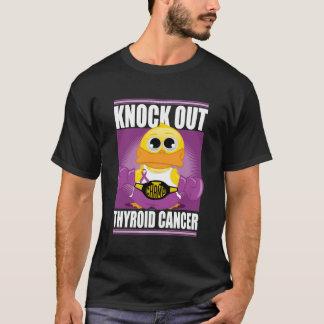 Elimine al cáncer de tiroides playera