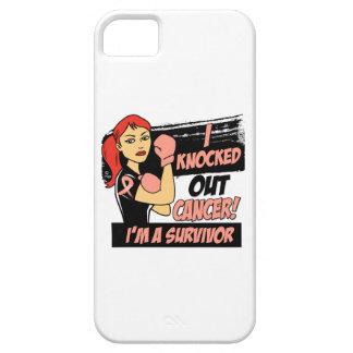 Eliminé al cáncer endometrial iPhone 5 protectores