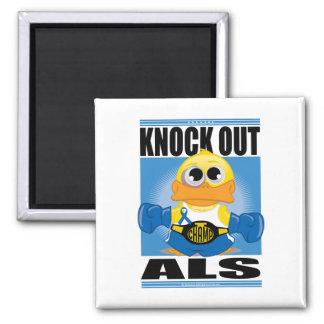 Elimine el ALS Imán Cuadrado