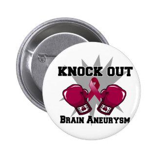 Elimine el Aneurysm del cerebro Pin Redondo De 2 Pulgadas