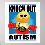 Elimine el autismo poster