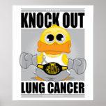 Elimine el cáncer de pulmón poster