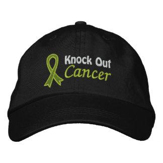 Elimine el linfoma de Non-Hodgkins del cáncer Gorros Bordados