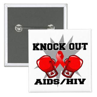 Elimine el VIH del SIDA Pin