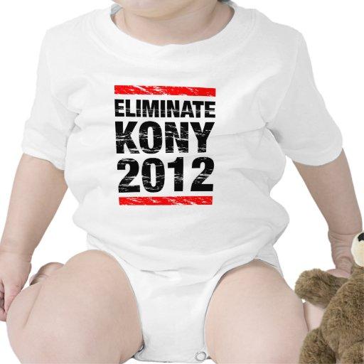 Elimine Kony 2012 Traje De Bebé