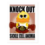Elimine la anemia de la célula falciforme tarjeta postal