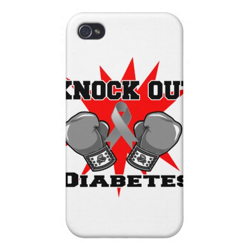 Elimine la diabetes iPhone 4/4S carcasas