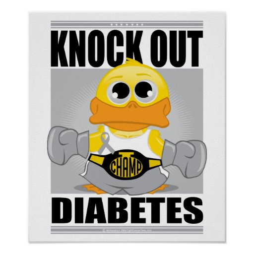 Elimine la diabetes posters