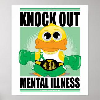 Elimine la enfermedad mental impresiones