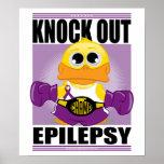 Elimine la epilepsia póster