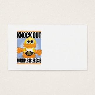 Elimine la esclerosis múltiple tarjetas de visita