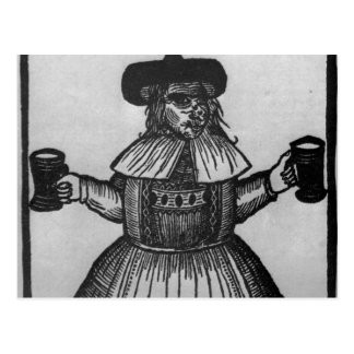 Elinour Rummin, purveyor of Pimlico Ale, c.1609 Postcard