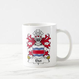 Eliot Family Crest Coffee Mug