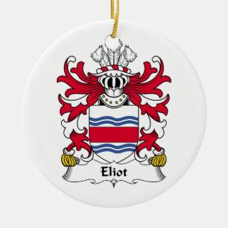 Eliot Family Crest Ornament
