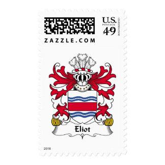 Eliot Family Crest Stamp