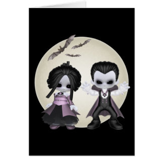Elisa And Bash Little Gothics Card