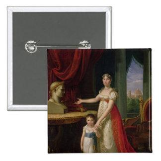 Elisa Bonaparte  Grand Duchess of Tuscany Button