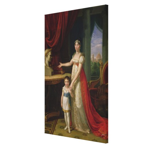 Elisa Bonaparte  Grand Duchess of Tuscany Gallery Wrapped Canvas