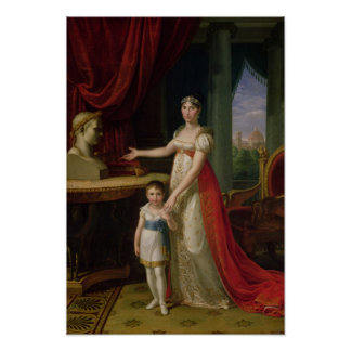 Elisa Bonaparte  Grand Duchess of Tuscany Poster