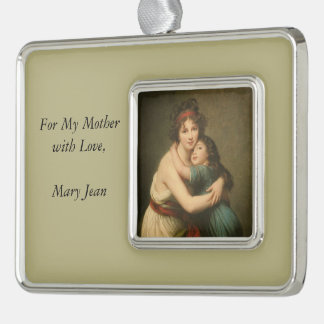 Elisabeth and Her Daughter Christmas Ornament