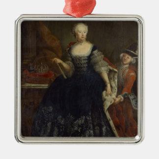 Elisabeth Christine von Braunschweig as Queen Metal Ornament