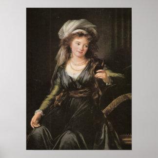 Elisabeth-Louise Vigee-Lebrun Poster