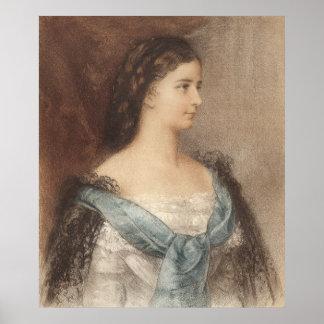 Elisabeth of Bavaria - Empress Sisi - Hapsburgs Print