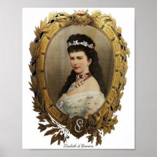 Elisabeth of Bavaria Print